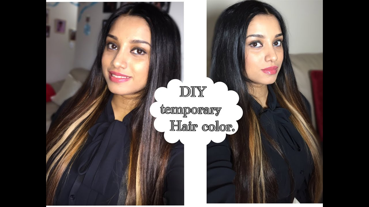How To Get Long Hair And Temporary Highlights In Minutes
