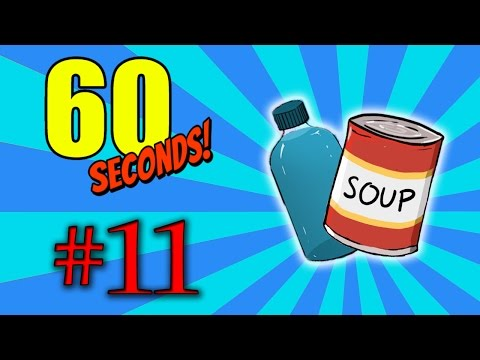 JÍDLO A VODA CHALLENGE - 60 Seconds!