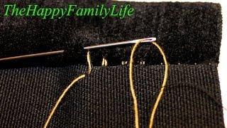 видео Техника шитья иголкой