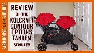 Best Stroller Ever! | Kolcraft Contour Options Tandem Stroller Review!