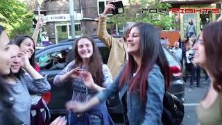 Սերժ Սարգսյանի հրաժարականից րոպեներ անց