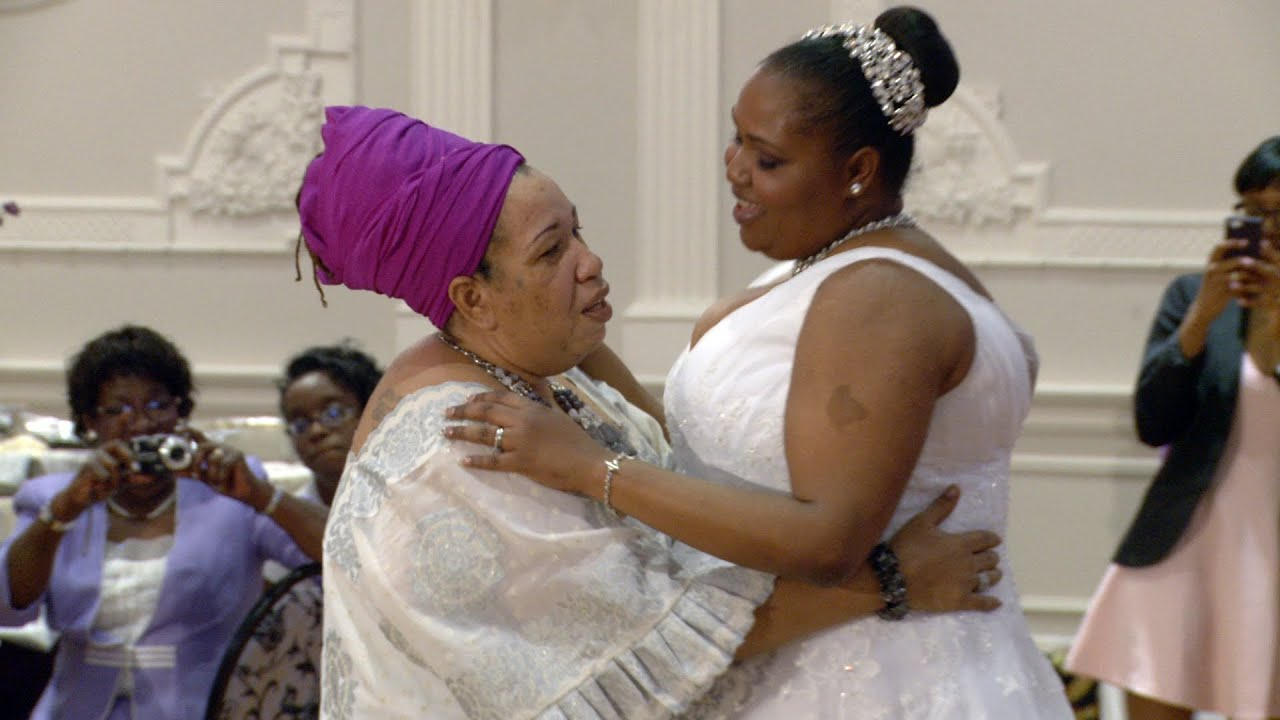 Mother and Daughter Dance at A Nigerian Wedding Reception Toronto