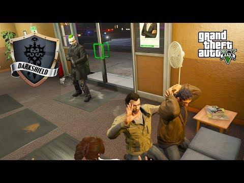 GTA 5 Roleplay - Darkshield - #29 - Bank Hostage!