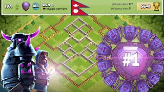 Town Hall 11 Trophy/Legend Base 2018 | New BEST Th11 Trophy Base | Anti Queen Walk/Anti 3 Star