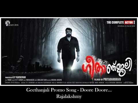 Geethanjali promo song - Doore Doore...  ...
