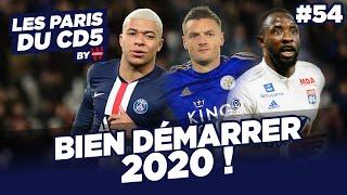 PSG, LEICESTER, LYON : BIEN DÉMARRER L'ANNÉE 2020 ! - LES PARIS DU CD5 BY WINAMAX - #54