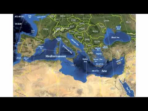 Physical Geography Of Europe And Russia YouTube - Map of europe and russia physical