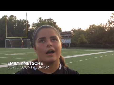 Grueling practices motivate Boyle County girls' soccer