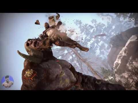 Bambam dublando Kratos ( God of War )