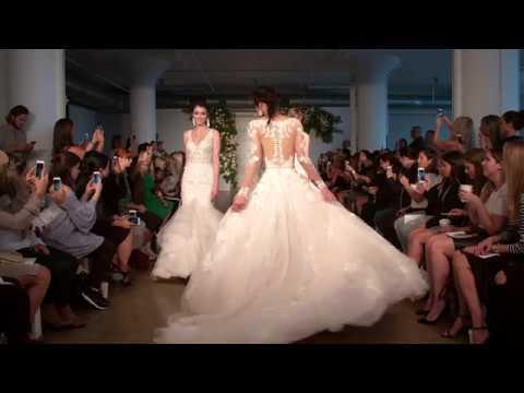 Rochii De Mireasa Mori Lee In Cadrul Nyfw At Avangarde Brides Youtube