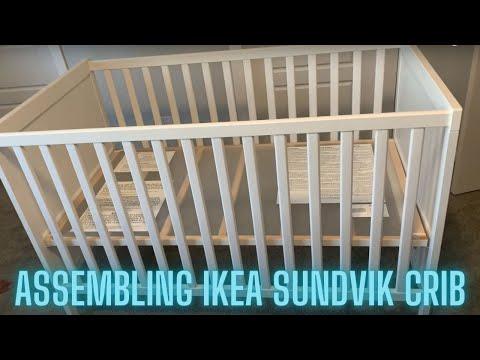 Unboxing Ikea Sundvik Crib Youtube