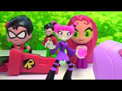 Teen Titans Go McDonald's Happy Meal Full Set 2019