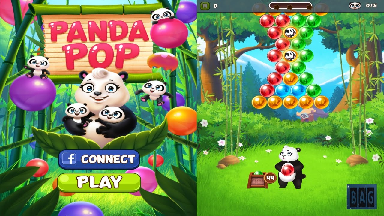 panda pop bubble shooter hd gameplay youtube. Black Bedroom Furniture Sets. Home Design Ideas