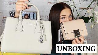 👜 РАСПАКОВКА: мои покупки из США, сумки Michael Kors и скидки  | Dasha Voice