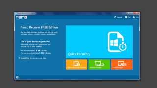 Recover data using free data recovery software