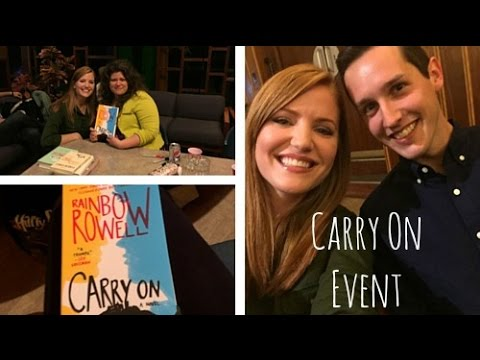 Meeting Rainbow Rowell | My First Book Signing!