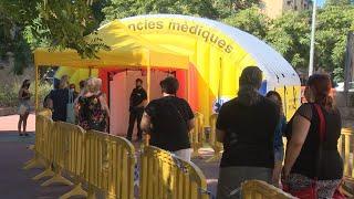 Realización de PCR en las áreas sanitarias de Sabadell y Ripollet tras los brotes surgidos