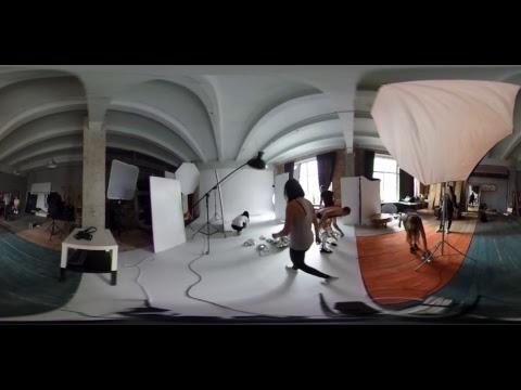 ETEREshop live 360 stream mirror dress photo session