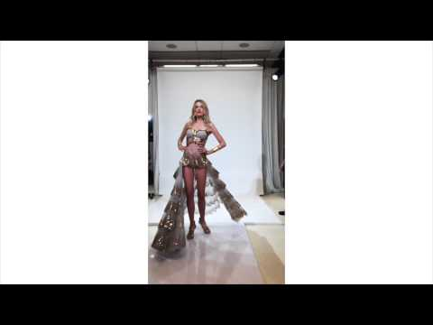 VICTORIA'S SECRET FASHION SHOW 2014 FITTINGS: LILY DONALDSON