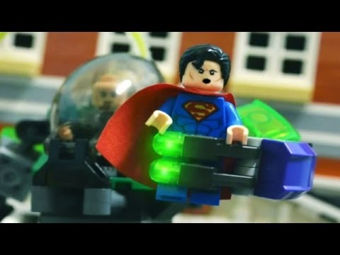 Lego Stop Motion - Superman VS Lex Luthor 樂高超人!!!