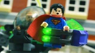Lego Stop Motion - Superman VS Lex Luthor 樂高超人!!!