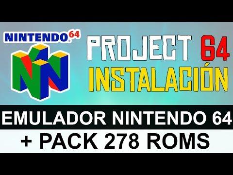 Descargar juegos de nintendo 64 para emulador project64 gratis