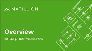 Enterprise Features in Matillion ETL