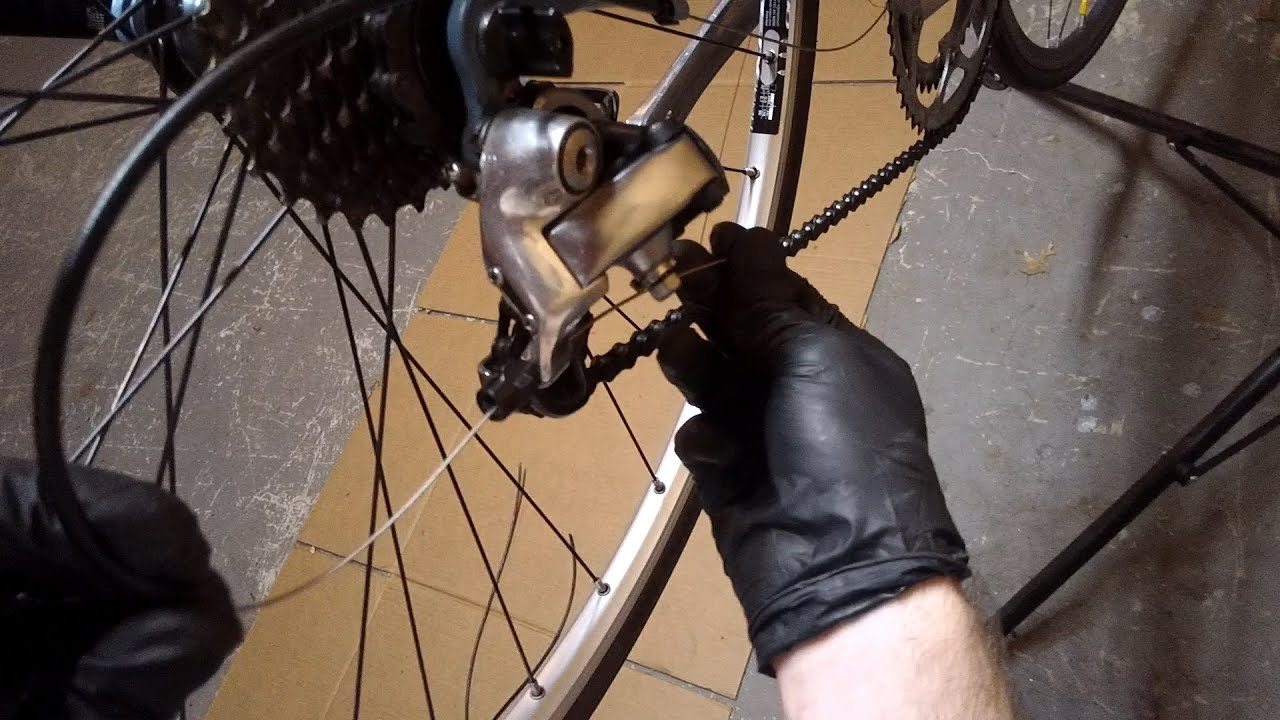 How To Replace And Install Rear Derailleur Road Shift