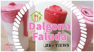 Dalgona Faluda Inspired by Dalgona Coffee | Unique taste of Falooda | Asian Taste