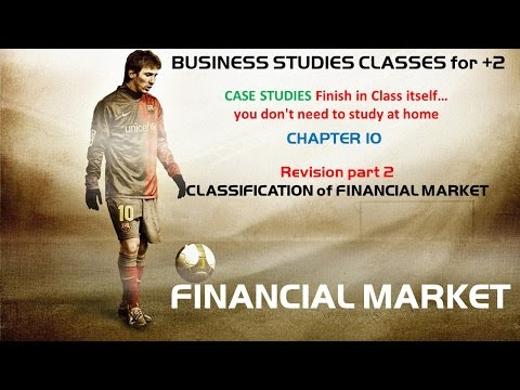 Classification of Financial Market