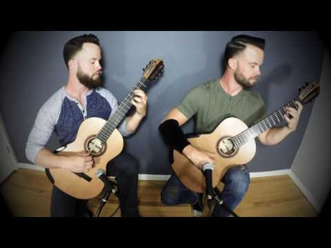 Adele - Lovesong (The Cure) The Bassett Bros. Guitar Duo