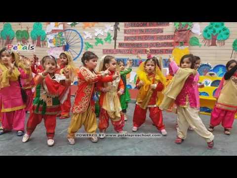 Rang De Basanti Performance by Kids Petals Republic Day Celebrations 2017