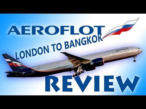 Aeroflot London to Bangkok review
