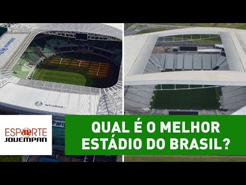 Qual é O MELHOR ESTÁDIO Do BRASIL?