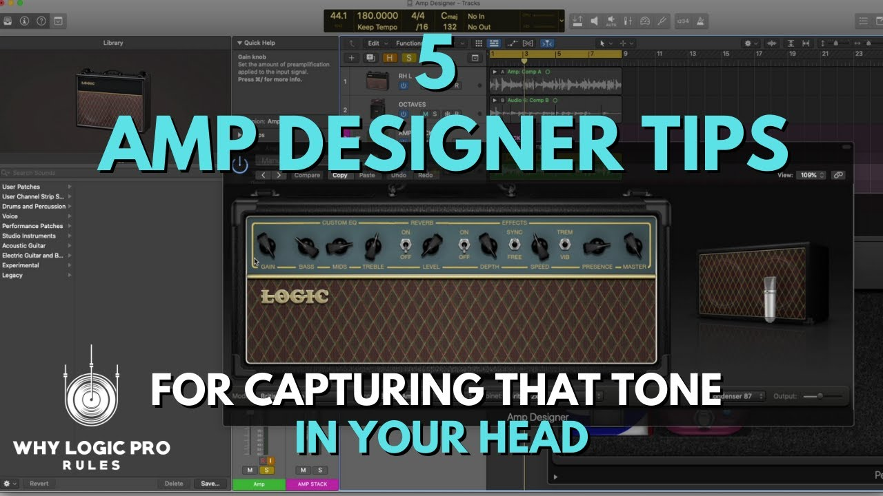 5 Amp Designer Tips For Capturing That Guitar Tone in Your Head