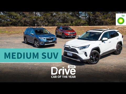 2020 Best Medium SUV: Toyota RAV4, Subaru Forester, Honda CR-V | 2020 Drive Car Of The Year