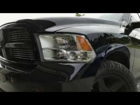 2009 2017 Dodge Ram Headlight Housing Bulb Removal
