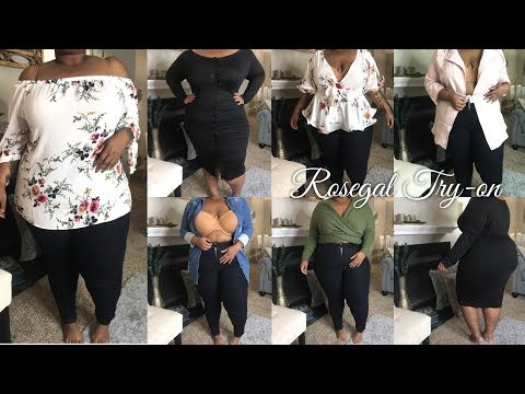 Rosegal Plus Size Try