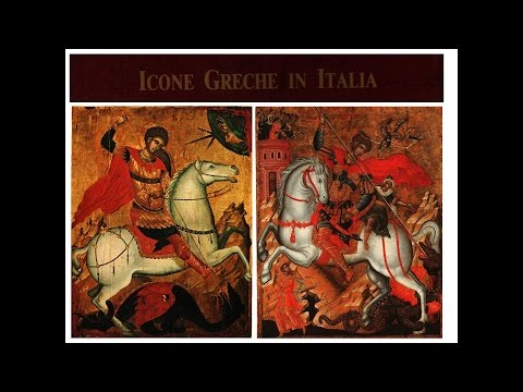 Byzantine & Post Byzantine icons in Italy