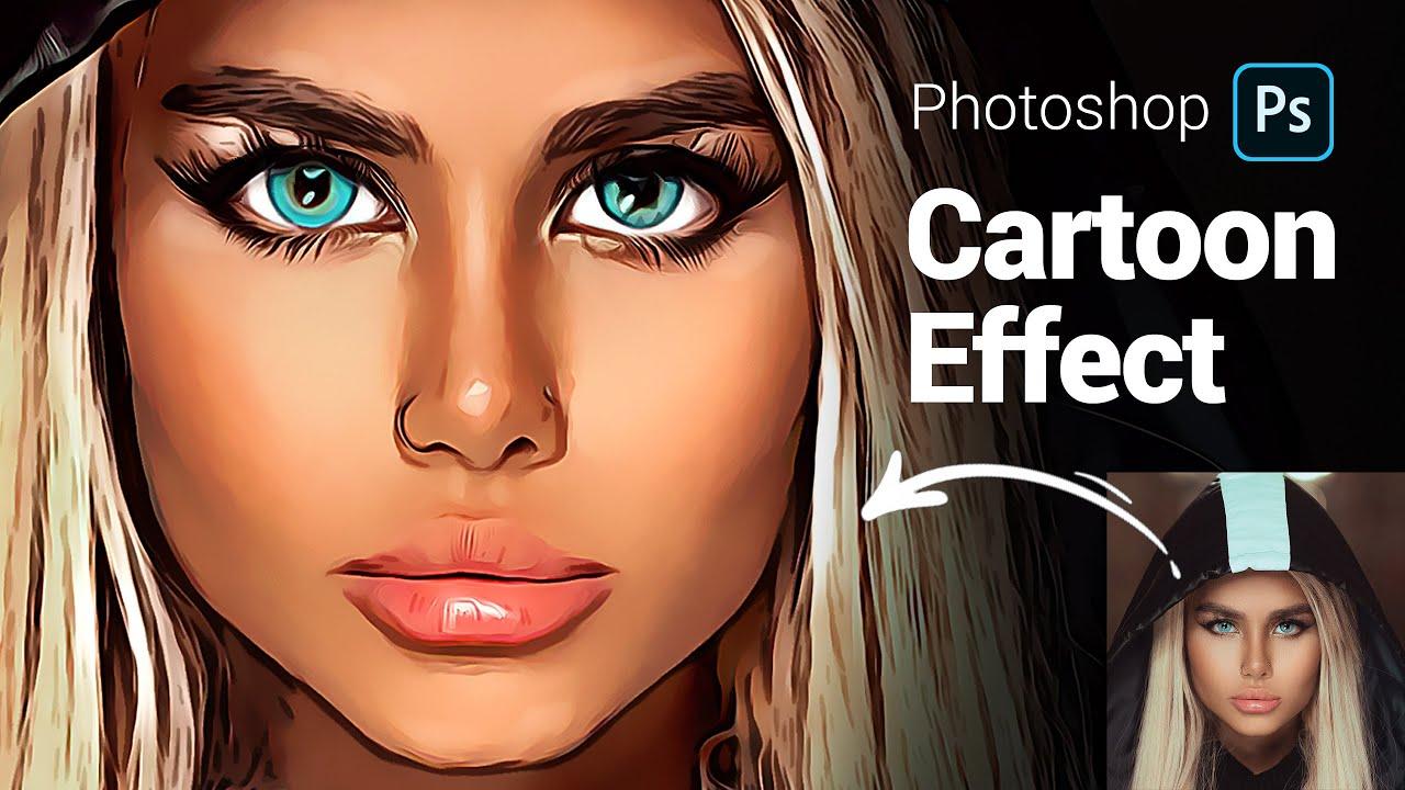 Cartoon Effect In Photoshop Clone Plugin Photoshop Tutorial Youtube