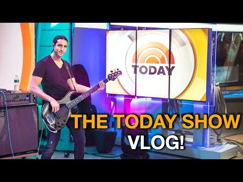 Download Youtube: Playing on the biggest morning TV Show in America! 😮 - The TODAY SHOW GIG VLOG