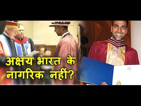 EXPOSE : Akshay is not an Indian Citizen !:  भारत के नागरिक नहीं है अक्षय