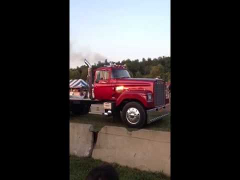 Dodge Big Horn Truck >> 1975 Dodge big horn drive by at tractor pulls in cambria ny - YouTube