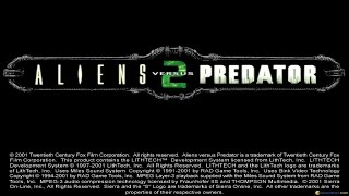 Aliens vs Predator 2 gameplay (PC Game, 2001)