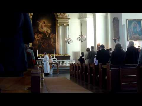 Holy mass on St. Augustine Day with Swedish Church Union 1