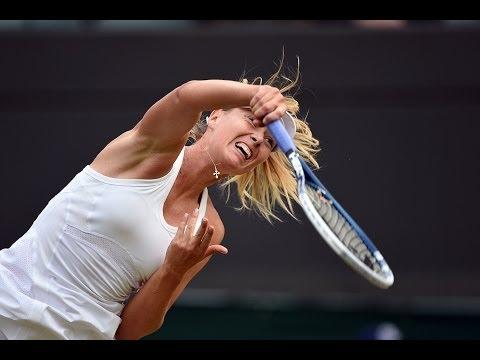 2014 Day 4 Highlights, Maria Sharapova vs Timea Bacsinszky, Second Round