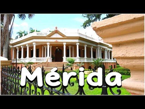 VISITAMOS MÉRIDA (YUCATÁN) CAPITAL AMERICANA DE LA CULTURA