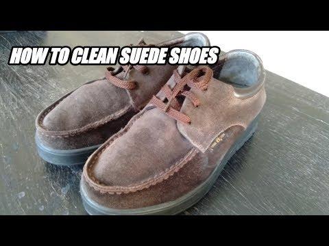 HOW TO CLEAN SUEDE SHOES // Cara Membersihkan Sepatu Suede