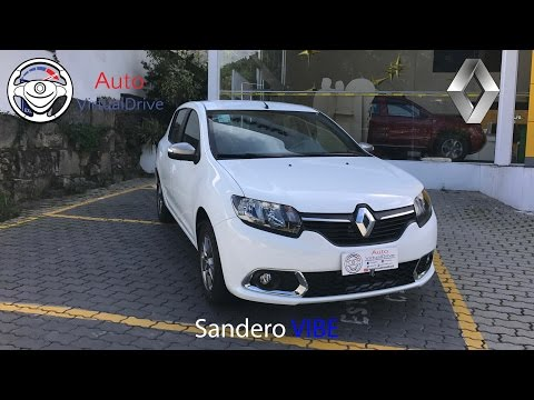 Avaliação Renault Sandero Vibe 1.0 SCe (2017) - AutoVirtualDrive
