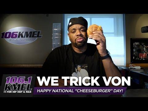 We Trick Von into Eating a Vegan Burger on #NationalCheeseburgerDay!